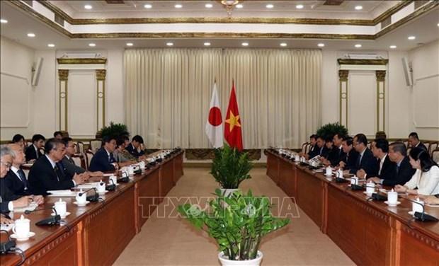 胡志明市深化与日本爱知县的合作关系 hinh anh 2