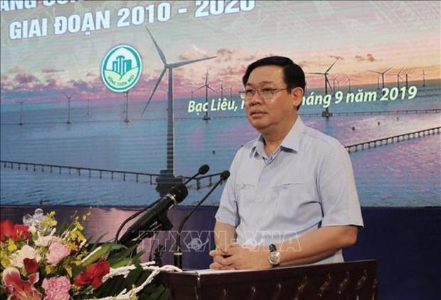 越南政府副总理王廷惠:以人民为新农村建设的主体 hinh anh 1
