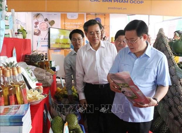 越南政府副总理王廷惠:以人民为新农村建设的主体 hinh anh 2