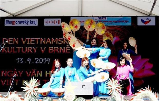 富有越捷友谊之情的越南文化日在南摩拉维亚州举行 hinh anh 1