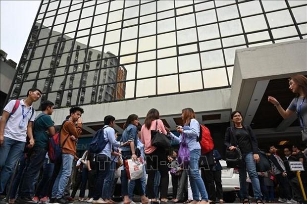 菲律宾首都马尼拉东部发生5.2级地震 hinh anh 1