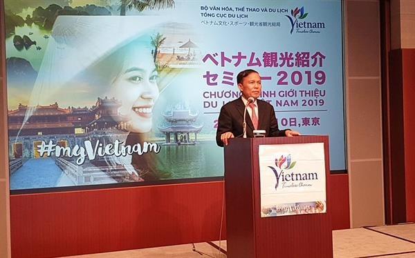 越南接近2019年国际游客到访量达1755万至1800万人次的目标 hinh anh 1
