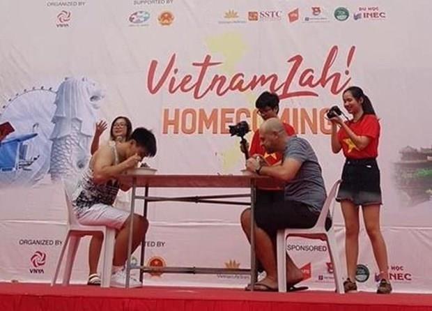 旅居新加坡越南人社群:离去是为了更好地回归 hinh anh 1