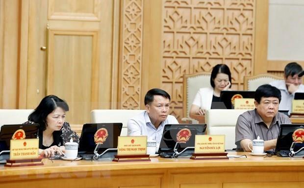 越南政府发布8月份例行会议决议:确保重点工程项目按期保质完成 hinh anh 2