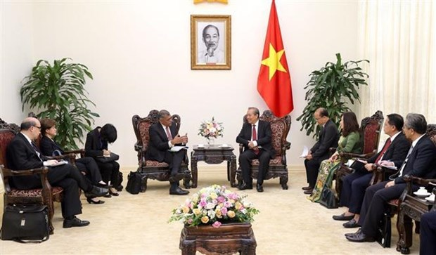 越南政府副总理张和平会见新加坡首席大法官 hinh anh 2