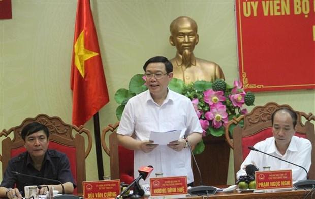 越南政府副总理王廷惠莅临得乐省调研 hinh anh 2