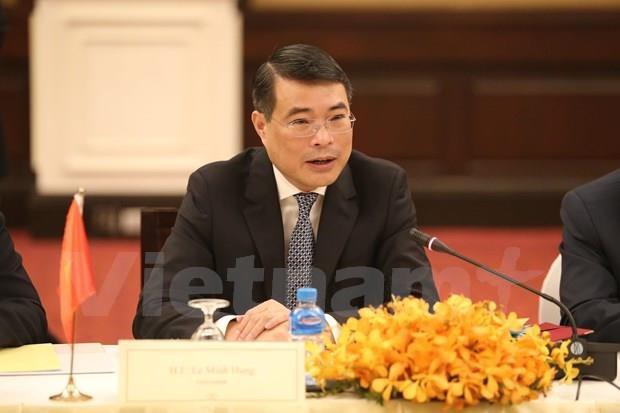 柬埔寨国家银行与越南国家银行加强合作关系 hinh anh 3