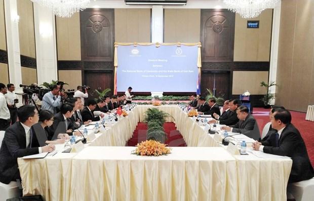 柬埔寨国家银行与越南国家银行加强合作关系 hinh anh 1