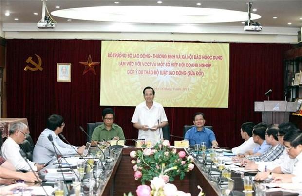 对《劳动法》进行修改时需确保国家、企业和劳动者双方利益和谐 hinh anh 3