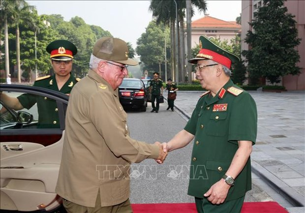第三次越南与古巴国防政策对话会在河内召开 hinh anh 1