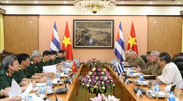 第三次越南与古巴国防政策对话会在河内召开 hinh anh 2