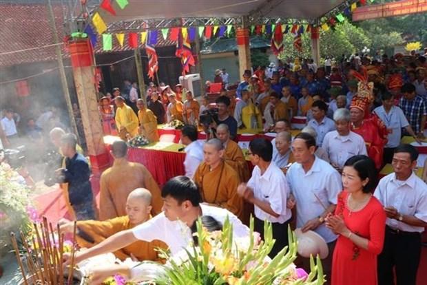 阮廌忌日577周年纪念仪式在昆山遗迹区举行 hinh anh 2