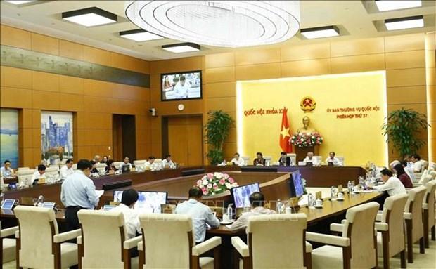 越南国会常委会第37次会议:将爱尔兰的无偿援助资金作为2019年国家财政预算的补充 hinh anh 1