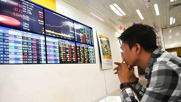 越南股市:越南指数接近990点大关 hinh anh 1