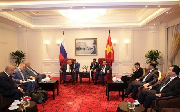 越南公安部与俄罗斯联邦内务部促进合作关系 hinh anh 2