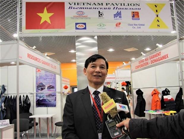 越南企业参加2019年俄罗斯国际轻工纺织博览会 hinh anh 1