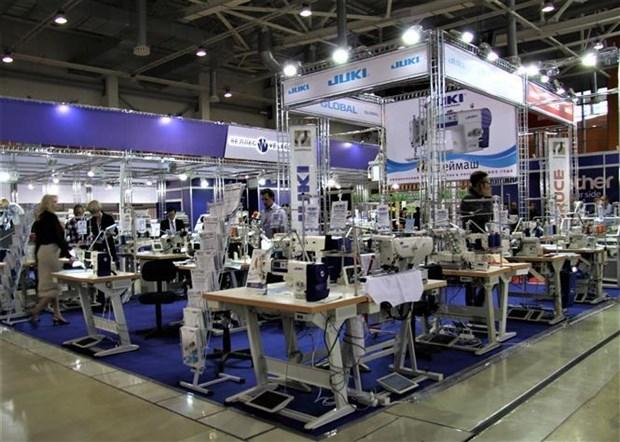 越南企业参加2019年俄罗斯国际轻工纺织博览会 hinh anh 2