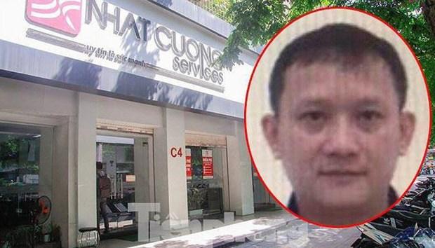 越南对日强移动公司经理裴光辉发布红色通缉令 hinh anh 1