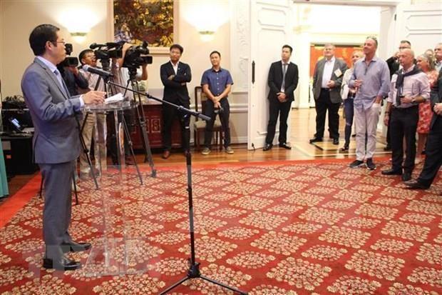 越南驻美大使馆与美国国家渔业研究所联合举办渔业与贸易交流会 hinh anh 1
