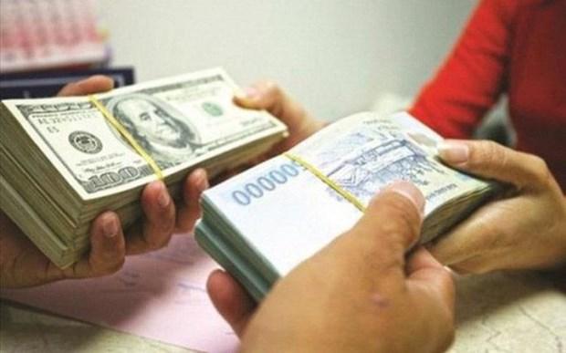 9月18日越盾对美元汇率中间价上调8越盾 hinh anh 1