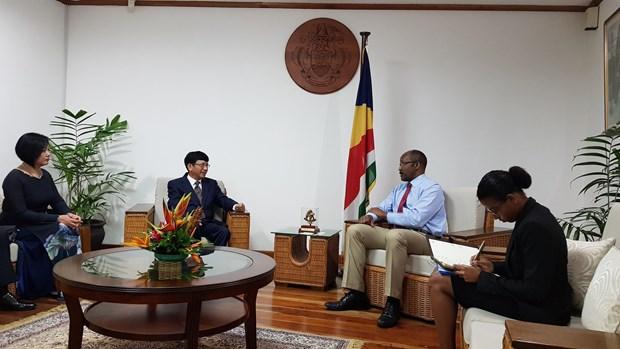 进一步巩固与发展越南塞舌尔友好合作关系 hinh anh 2
