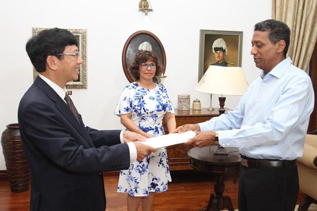 进一步巩固与发展越南塞舌尔友好合作关系 hinh anh 1