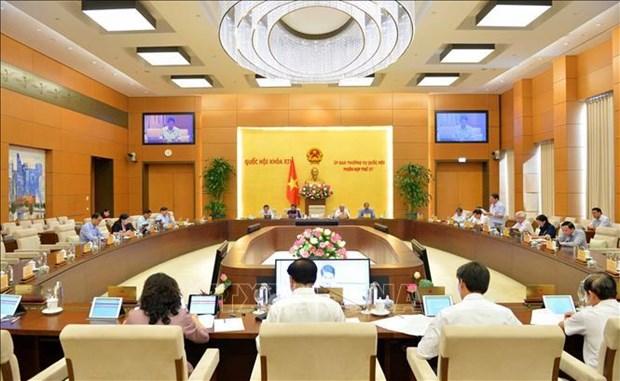 国会常务委员会第37次会议:对过境货物进行海关现代化建设 hinh anh 1