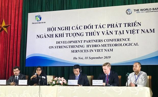 越南加强水文气象领域的发展伙伴关系 hinh anh 1