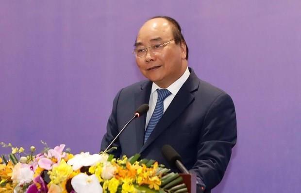 越南政府总理阮春福:以企业为发展动力 hinh anh 1