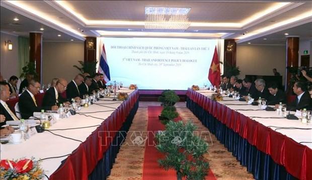 第三次越泰防务政策对话有助于深化两国防务合作 hinh anh 1