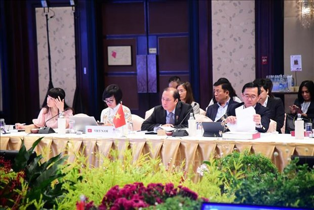 东盟为第35届东盟峰会及其系列会议做好准备 hinh anh 1