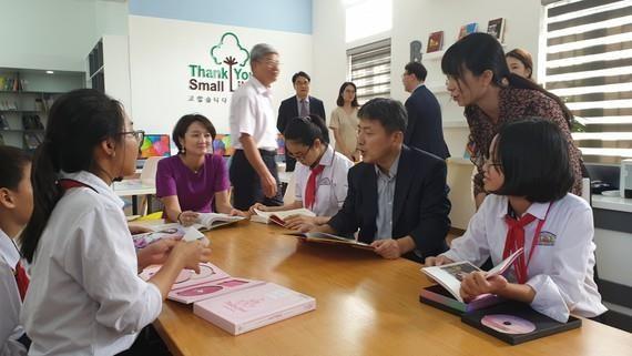 韩国继续援助越南开展图书馆建设项目 hinh anh 1