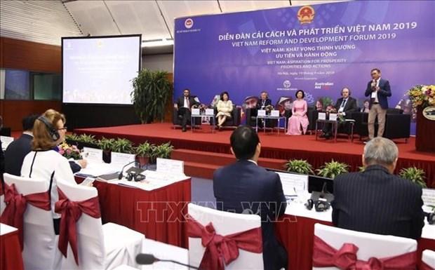 2019年越南发展和改革论坛在河内召开 hinh anh 1