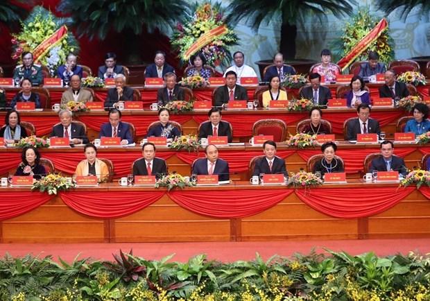 越南祖国阵线第九次全国代表大会今日开幕 hinh anh 2