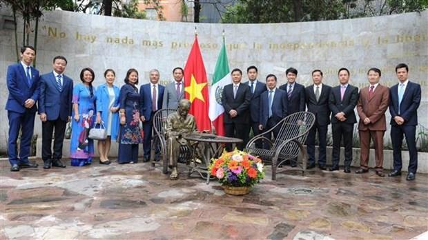 越南与墨西哥第五次政治磋商在墨西哥举行 hinh anh 3