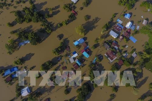 泰国8月底至今洪灾致34人死 hinh anh 1