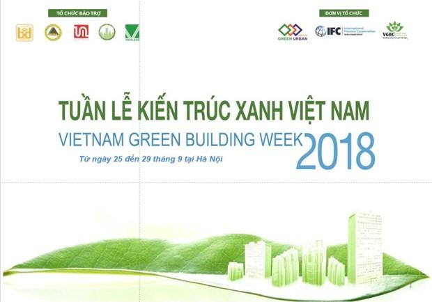越南绿色建筑周将于本月底举行 hinh anh 1