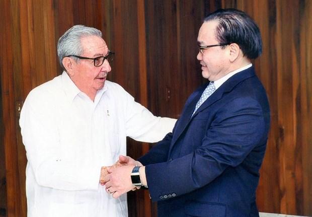 进一步加强河内市与古巴各领域的合作关系 hinh anh 1