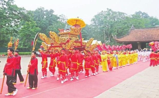2019年蓝京庙会正式开庙:蓝山豪气永放光芒 hinh anh 1