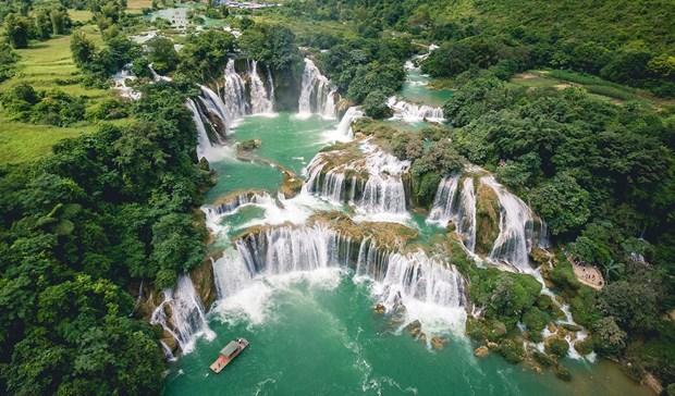 板约—— 东南亚最雄伟的瀑布 hinh anh 1