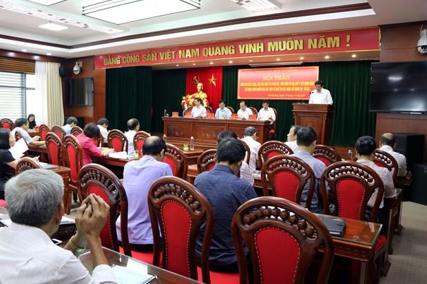 海阳省:致力提升民主监督和参政议政的工作质效 hinh anh 2