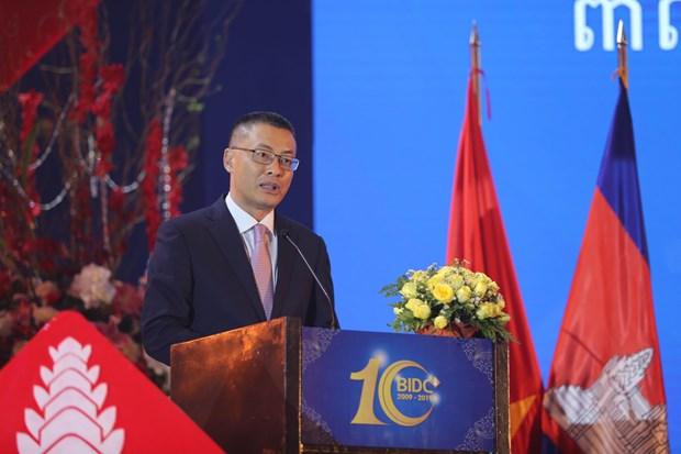 柬埔寨副首相梅森安高度评价越南BIDC银行对柬埔寨的贡献 hinh anh 3