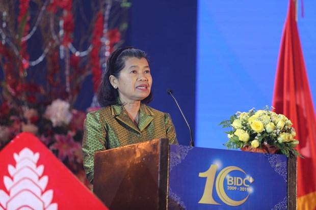 柬埔寨副首相梅森安高度评价越南BIDC银行对柬埔寨的贡献 hinh anh 1