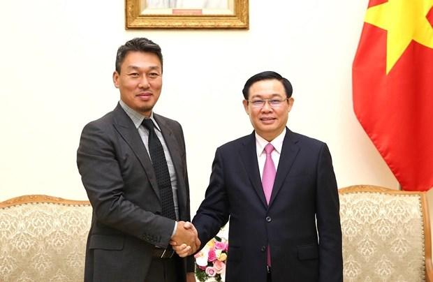 越南政府副总理王廷惠:致力于完善越南无现金支付体系 hinh anh 1
