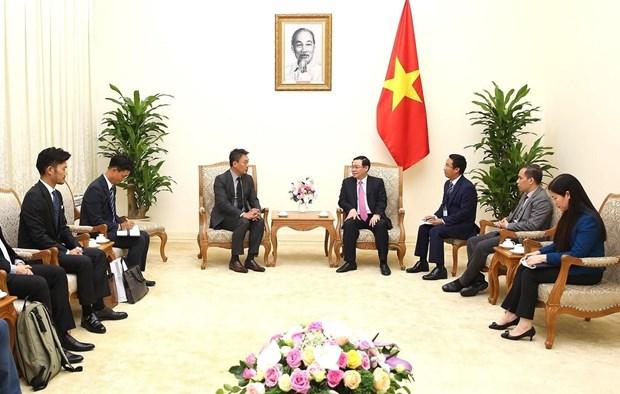 越南政府副总理王廷惠:致力于完善越南无现金支付体系 hinh anh 2