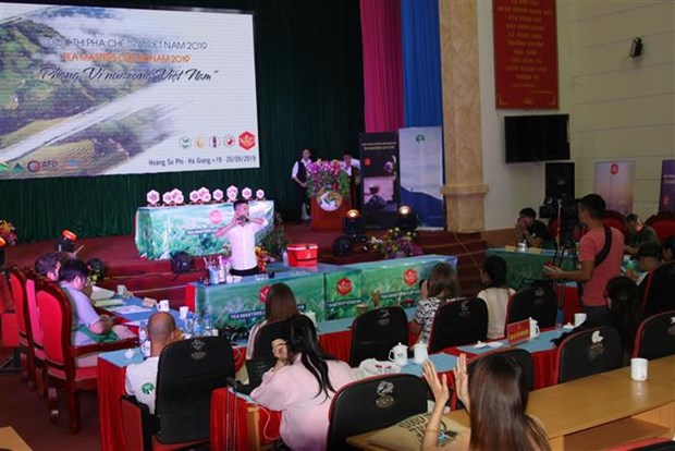 2019年越南茶艺师比赛在河江省举行 hinh anh 1