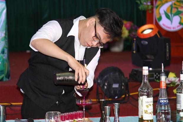 2019年越南茶艺师比赛在河江省举行 hinh anh 2