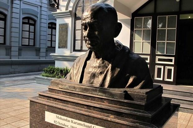 纪念印度领袖圣雄甘地诞辰150周年的系列活动将在越南举行 hinh anh 1