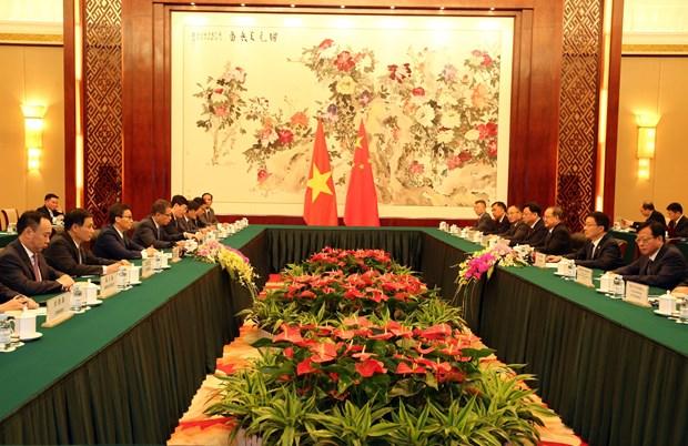 越南政府副总理武德儋出席第16届中国—东盟博览会开幕式 hinh anh 2