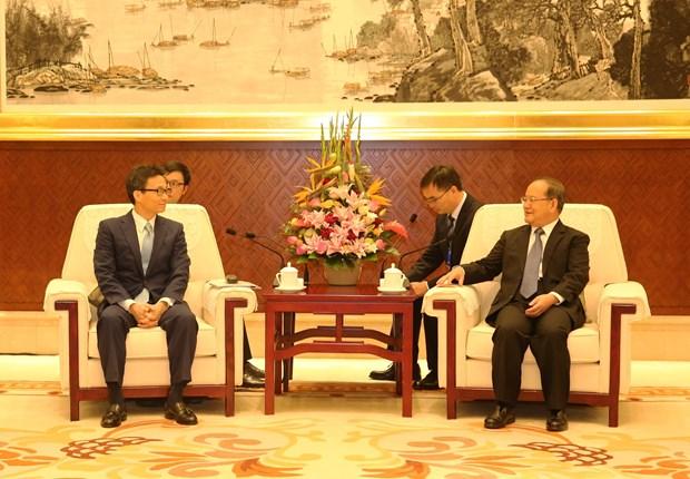 越南政府副总理武德儋出席第16届中国—东盟博览会开幕式 hinh anh 3